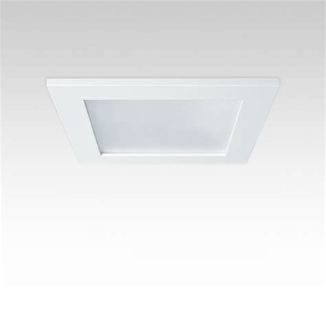 1199 square led recessed downlight by gamma illumination