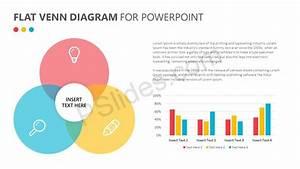 Flat Venn Diagram For Powerpoint