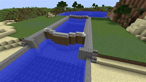 Minecraft Boat Canal by Minecraft Canal Lock 6 By Fatthoron On Deviantart