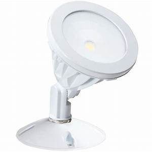 Irradiant white led outdoor wall mount flood light alv h wh the home depot