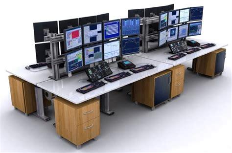 Ergonomic Living Room Furniture by Control Room Consoles 911 Dispatch Furniture Tbc