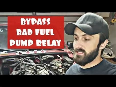 How Bypass Bad Fuel Pump Relay Ford Ranger Explorer