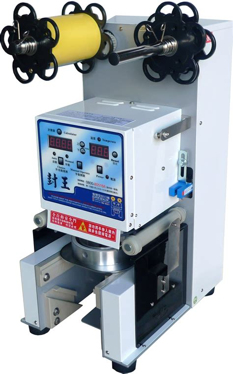 automatic table type cup sealing machine  bubble tea  beverage taiwantradecom