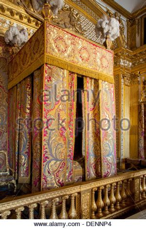 cing 4 chambres palace of versailles chambre de antoinette stock