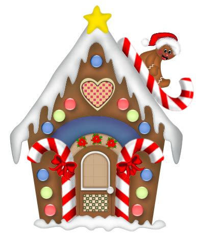 Gingerbread House Clip Santas Workshop Gingerbread House Clipart Clipground