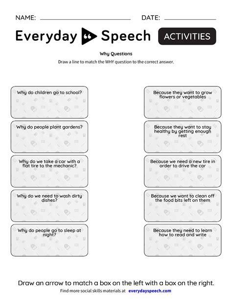 Why Questions  Everyday Speech  Everyday Speech