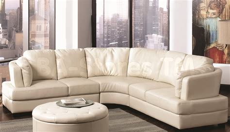 home decorators curved sofa round leather sofa set prod item bar 02016 num ser 2460