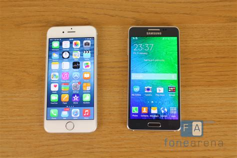 iphone or galaxy samsung galaxy alpha vs apple iphone 6