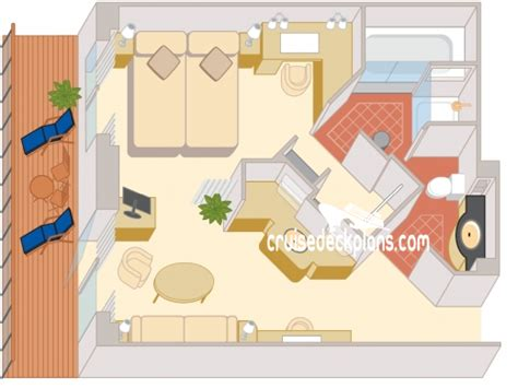 Cunard Cabin Layout by Staterooms