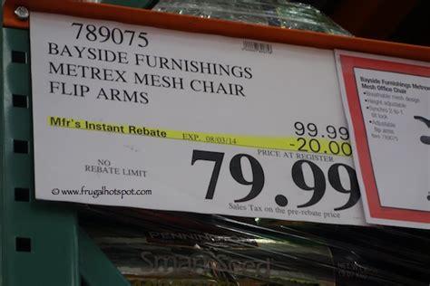costco sale bayside furnishings metrex mesh office chair