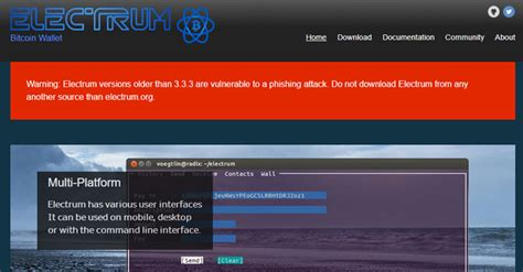 Electrum, which has been around since 2011, is a remarkably powerful and free client for bitcoin. Rapidly Growing Electrum Botnet Infects Over 152,000 Users; Steals $4.6 Million