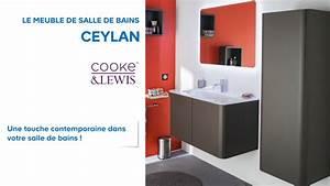 meuble de salle de bains ceylan cooke lewis 648690 With castorama meubles de salle de bain