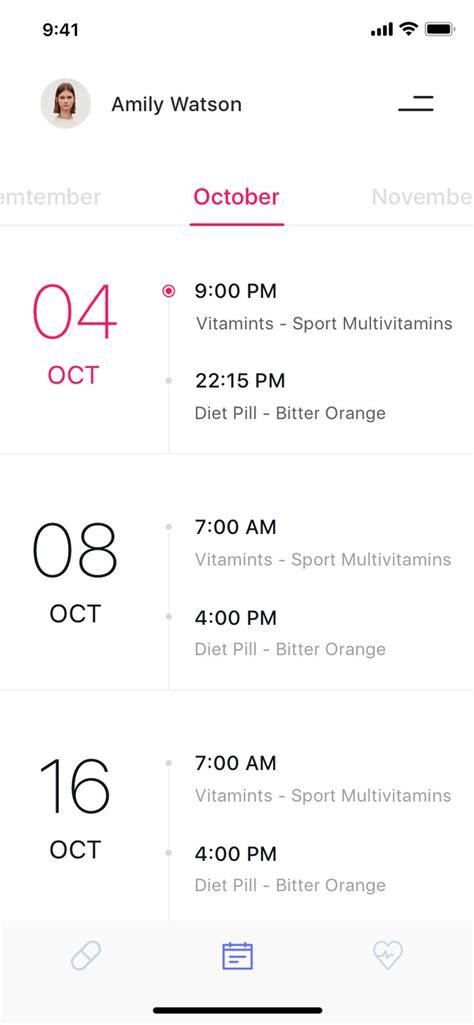 medical reminder calendar  images android app