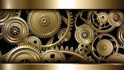 Steampunk Gears Mechanical Wallpapers Machine Machines Components