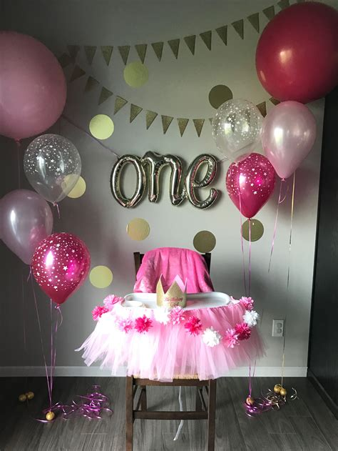 First Birthday Party …  Isabella In 2019…