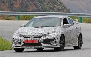 Honda Type R 2018 : 2018 honda civic type r spied gets closer to us debut autoevolution ~ Melissatoandfro.com Idées de Décoration