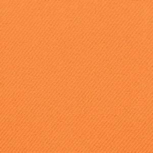 Orange Gabardine Fabric OnlineFabricStore net