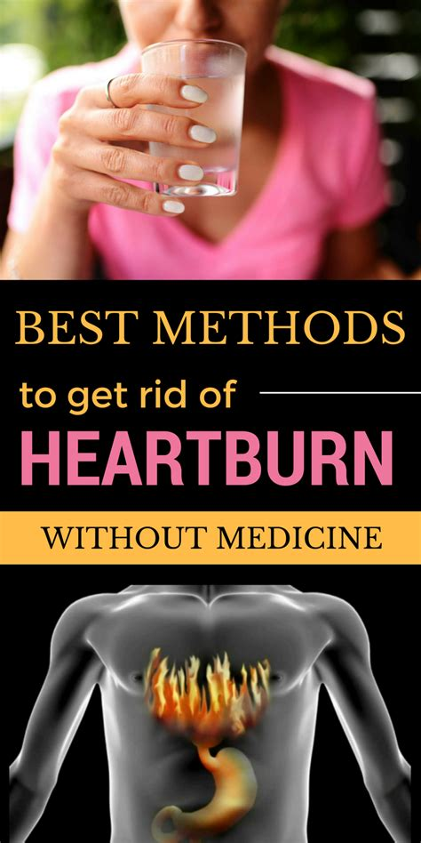Best Ways To Get Rid Of Heartburn Without Medicine