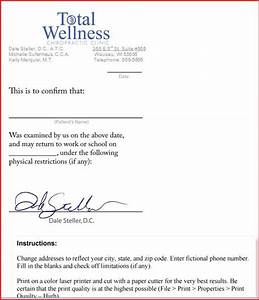 free fake doctors note template download will verizon With fake dr note template free