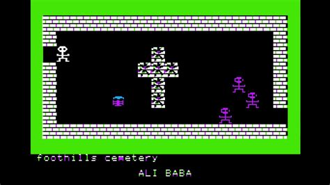 Apple II: Ali Baba and the Forty Thieves - YouTube