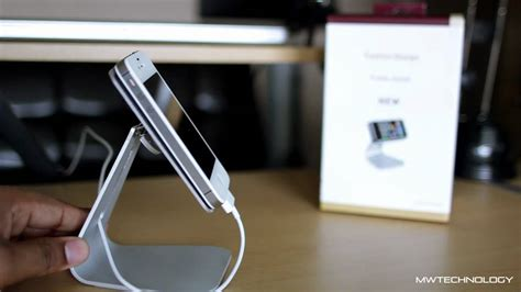 iphone 6 desk stand best iphone android aluminium desk stand review youtube
