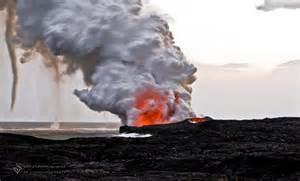 Lightning and Tornado Volcano