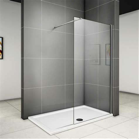 dusche mit pendeltür und seitenwand duschabtrennung duschwand seitenwand walk in dusche glaswand echtglas wa ebay
