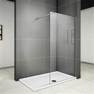 Walk In Dusche : duschabtrennung duschwand seitenwand walk in dusche glaswand echtglas wa ebay ~ One.caynefoto.club Haus und Dekorationen