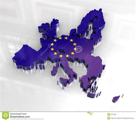 flag map  european union royalty  stock