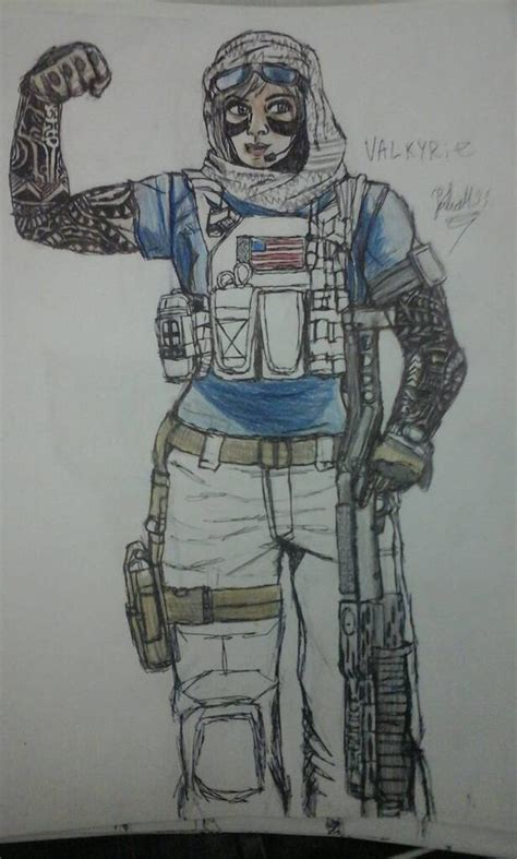 like dungeon siege 2 valkyrie rainbow six siege by julio632 on deviantart