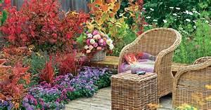 terrasse herbstlich dekorieren mein schoner garten With französischer balkon mit silberhochzeit deko garten
