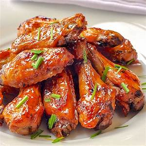 Baked Brown Sugar Dijon Chicken Wings