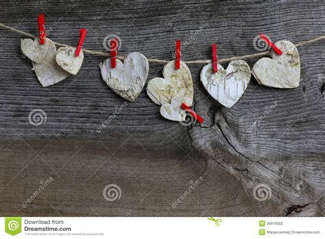 merry christmas hanging decoration birch hearts  red