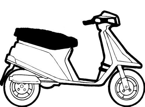 immagini da stare a colori colori scooter az colorare