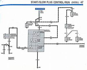 Glow Plug Relay Wiring Diagram Ford Truck Enthusiasts