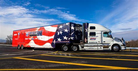 volvo trailer truck volvo trucks dedicates 2015 volvo vnl 780 to america 39 s