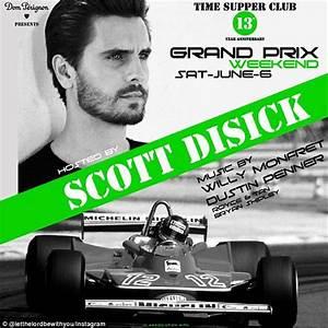 Scott Disick boasts of Dom Pérignon gig at Montreal GP ...