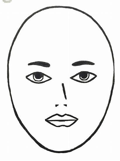 Face Round Clipart Shape Clip Head Faces