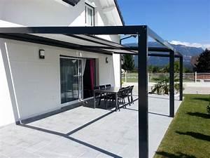 Store électrique Terrasse : pergolas aluminium a toile retractable a la teste de buch ~ Premium-room.com Idées de Décoration