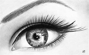 Eye Drawing by Chris Cox