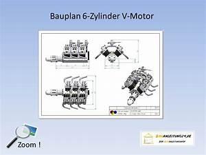 Lüling Motor Bauplan : bauplan 6 zylinder v motor bauanleitung 24 bauanleitungen baupl ne von kreativen k pfen ~ Watch28wear.com Haus und Dekorationen
