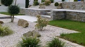 delicieux deco de jardin avec caillou 5 de jardin With deco de jardin avec caillou