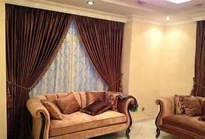 Rideaux Pour Salon Moderne : salon marocaine moderne rideaux occultants style marocain pour salon ~ Teatrodelosmanantiales.com Idées de Décoration