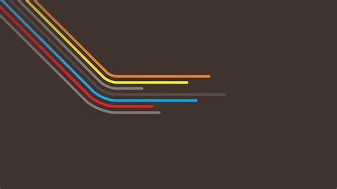 minimalistic multicolor vector wallpaper