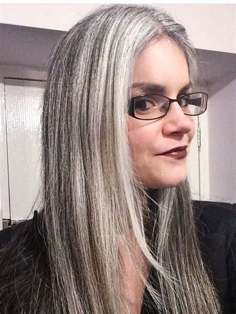 17 Best Images About Gray Hair Beauty On Pinterest