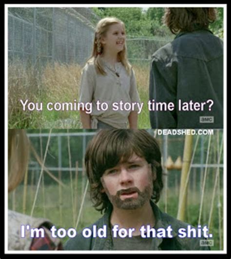 Walking Dead Season 4 Memes - deadshed productions story time edition the walking dead 4x01 memes