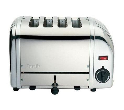 dualit 4 slice toaster buy dualit 40352 vario 4 slice toaster stainless steel