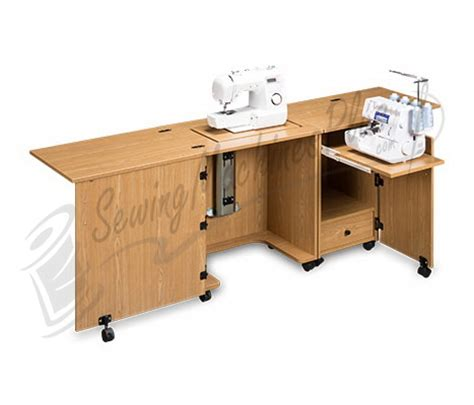 sewing cabinets canada sylvia design model 1000 space saver sewing serger cabinet