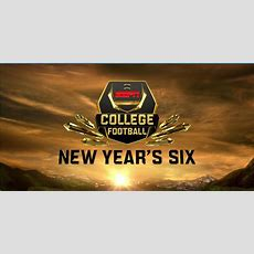 "College Football First Half Of ""new Year's Six"" Delivers Espn Mostviewed New Year's Eve"