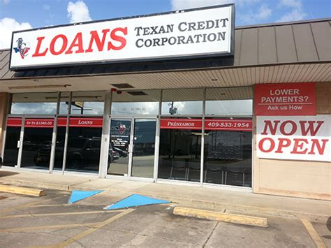 beaumont tx texan credit corporation